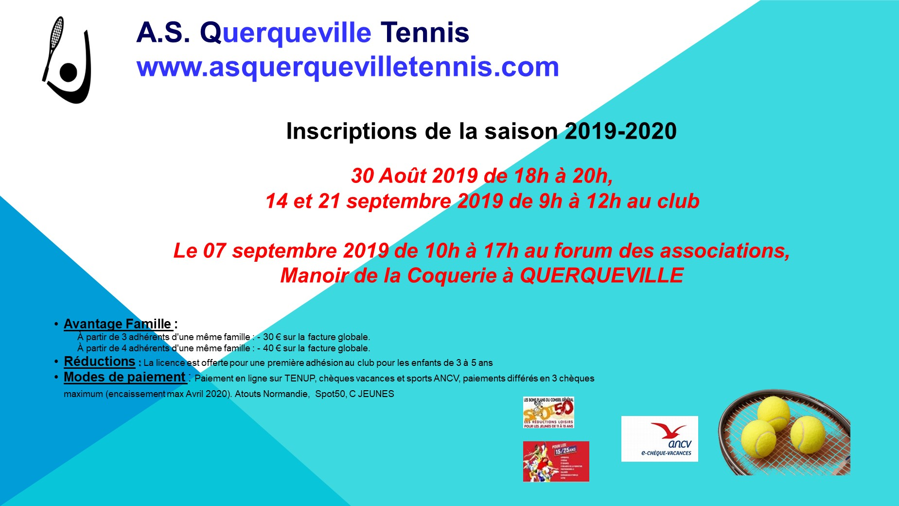 Affiche inscriptions 2019 2020 (2)